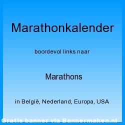 Marathonkalender van evenementen in Europa en daarbuiten